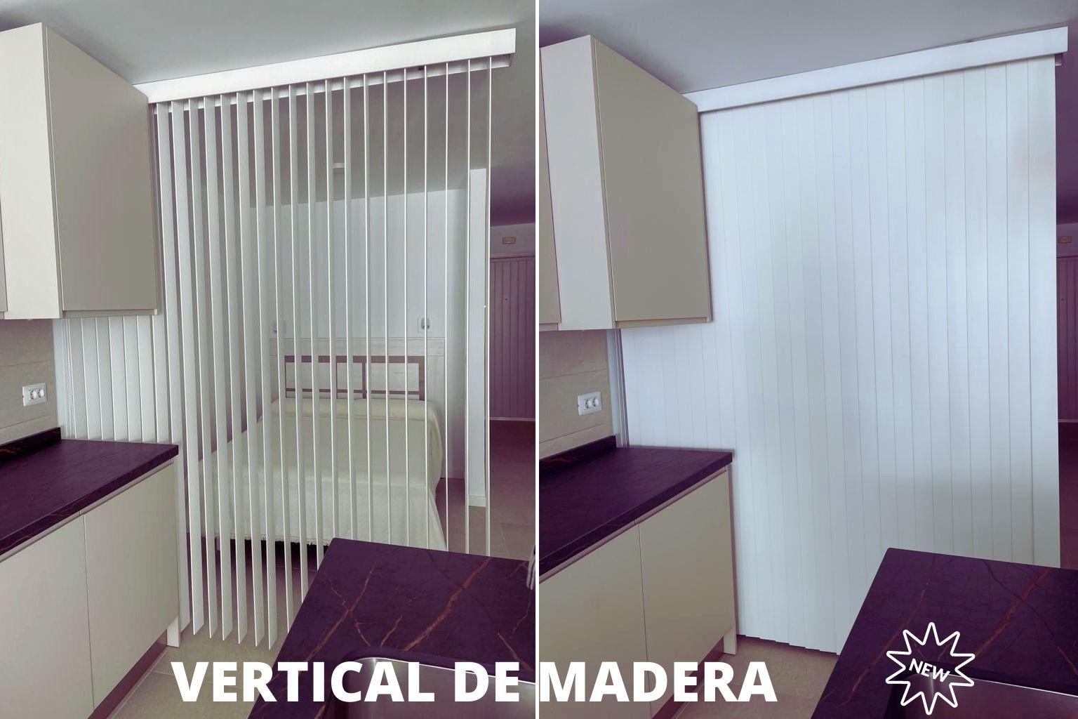 VERTICALES DE MADERA